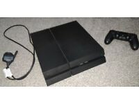 Unboxed 500GB Playstation 4 Jet Black (CUH-1216A).