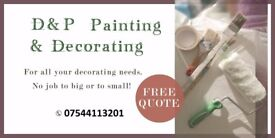 D&P PAINTING & DECORATING (serving the Scottish borders)