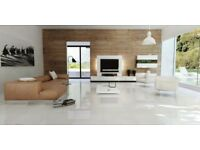 High Quality White Porcelain Tiles (Alaska imported from Spain) Limited Quantity Free Delivery
