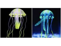 Fish floating jellyfish - Corals artificial an Fish Nets
