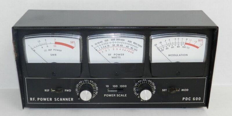 Para Dynamics PDC 600 RF Power Scanner Watt Modulation SWR CB Ham Radio