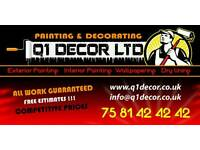 Painting & Decorating Services/Painter Decorator