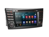 Mercedes E Class 7 Inch Android Audio Navigation Bluetooth Radio Car WiFi 3G DVD USB SD Stereo