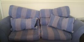 FREE - 3 seater fabric sofa, needs going this week