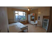 Newly decorated Double Room with a garden view