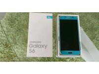 Samsung Galaxy S6 Topaz Blue. Unlocked
