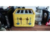 Morphy Richards Prism Toaster (Yellow)