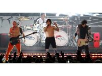 Red Hot Chilli Peppers Seated Tickets Supported by BABY METAL - London 02 Arena - 05/12/2016