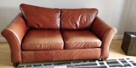 ***REDUCED***Large 3 Seater M&S Abbey Sofa Tan Leather