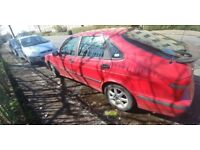 2000 Saab 2.2 Tid for Spares or Repairs