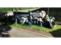 CHEAPER THAN A SKIP, WE DO ALL THE WORK, WASTE REMOVAL, HOUSE, GARDEN, SHED, GARAGE CLEARANCE. CHEAP