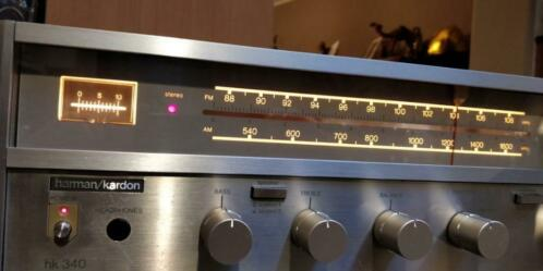 Harman Kardon HK340 AM/FM Solid State Receiver (1979)