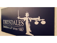 Legal Secretary - Conveyancing and Private Client - Drysdales Solicitors LLP