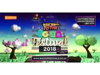 3 x Adult weekend camping tickets - Back to the 80s 90s festival