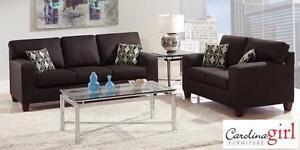 """Brand NEW """"Base Dark Chocolate"""" Sofa! Call709-726-6466!"""