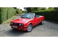 1991 BMW E30 320i cabriolet