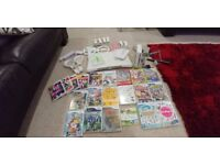 Nintendo Wii bundle - Wii Fit balance board, 4 controllers, loads of games covering all genres