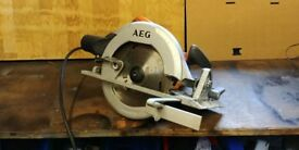 AEG KS 66-C 185mm circular saw, 240 volt