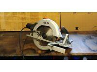 AEG KS 66-C 185mm circular saw, 240 volt