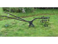 Garden Horse plough