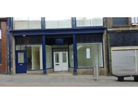 Newly refurbished shop / premises to let in bradford city centre
