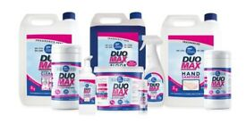 DUO MAX CLEANING & SANITISING PRODUCTS