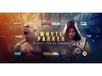 Dillian Whyte vs Joseph Parker Tickets