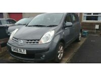 nissan note 2006 low miles