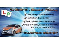 Driving Lessons in Derby - 10h for 175 ( DE1,DE3,DE11,DE15,DE21,DE22,DE23,DE24,DE65,DE72,73,74)