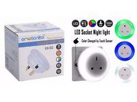 * NEW * Emotionlite LED Plug Through Socket Night Light with Dusk to Dawn Senor Night lamp Children