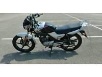 2010 Yamaha YBR 125cc £1,150 ONO