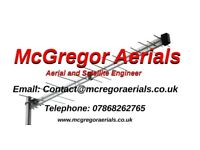 McGregor Aerials , Get an Aerial or satellite at an affordable price, Same day callout available