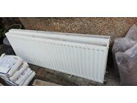 2x double panelled radiators