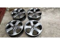 SET OF 5 VAUXHALL MOKKA 64 PLATE ALLOY WHEELS 215 55 R18 X 5 DELIVERY AVAILABLE