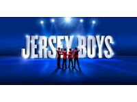 Front Row Jersey Boys tickets for sale or swap Liverpool Friday