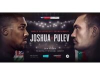 Anthony Joshua vs Carlos Takam tickets X2 Principality Stadium Cardiff
