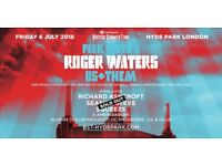SOLD OUT Roger Waters BST Hyde Park London Ticket