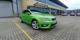 Seat Leon 1.4 TSI ACT FR Technology in beautiful Lima green - family owned with full service history