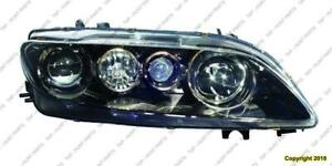 Head Light Passenger Side With Fog Light Sport Type Halogen High Quality Mazda 6 2003-2005