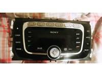 Sony dab cd head unit ( s max / mondeo