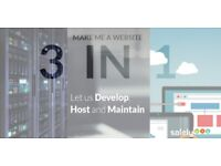 Website Design - Free Hosting, Domain and Maintenance