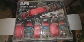Brane new ape rachet straps