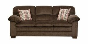 "PRICE REDUCED! Brand NEW ""Plato Chocolate"" Sofa! Call 709-634-1001!"