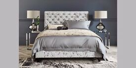 STUNNING BRAND NEW PARIS DOUBLE BED