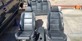 Bmw 5 series e60 leather msport seats