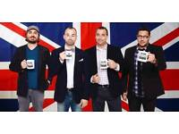 Impractical Jokers Cardiff Tickets - 8th October - Tickets in Hand FACE VALUE