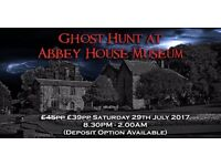 Ghost Hunting at Abbey House Museum, Leeds