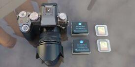 Panasonic LUMIX DMC-G7 with 14-42mm OIS Lens +accessories