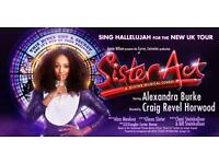 Sister Act - The Musical - Cardiff Millennium Centre - 3 Front Row Tickets