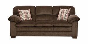 "PRICE REDUCED! Brand NEW ""Plato Chocolate"" Sofa! Call709-726-6466!"